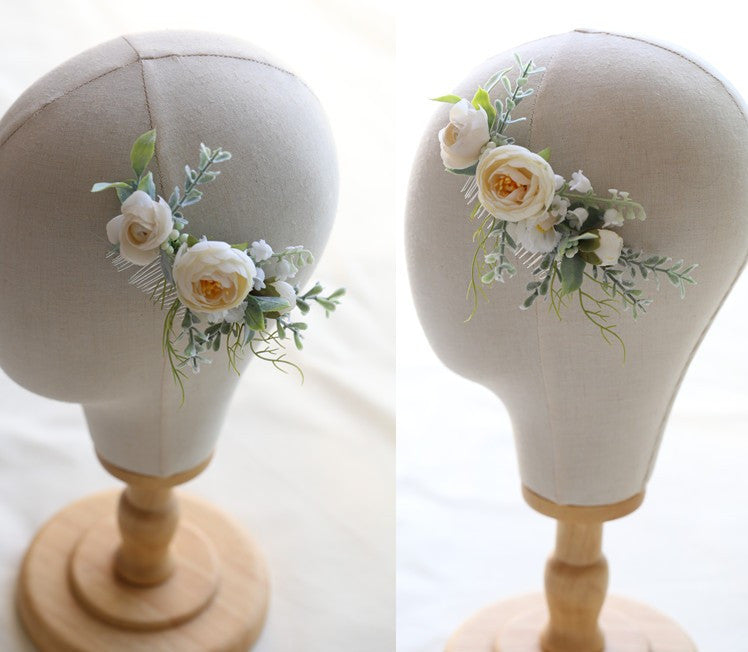 Woodland Flower Hair Comb - FabFunBride