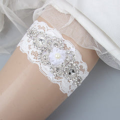 Rustic Lace Wedding Garter Sets - FabFunBride