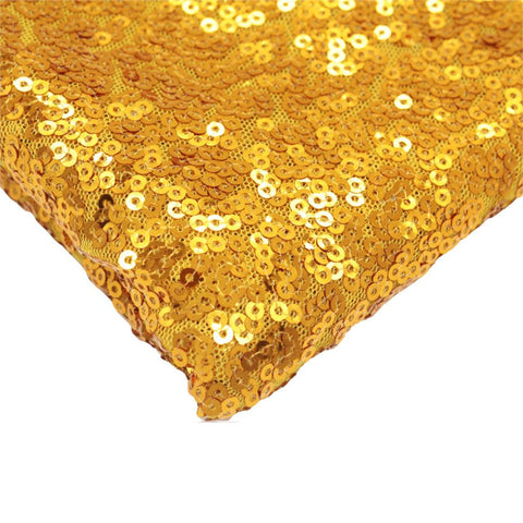 New 120x180cm Sparkling rose/Gold/Silver Sequin Tablecloth Table Cover Overlay - FabFunBride