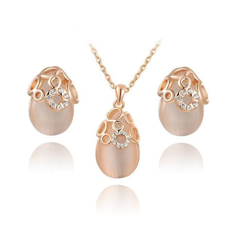 Blush Rose Gold Set - FabFunBride