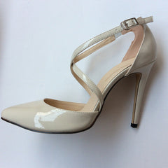 Blush Wedding Shoes - FabFunBride