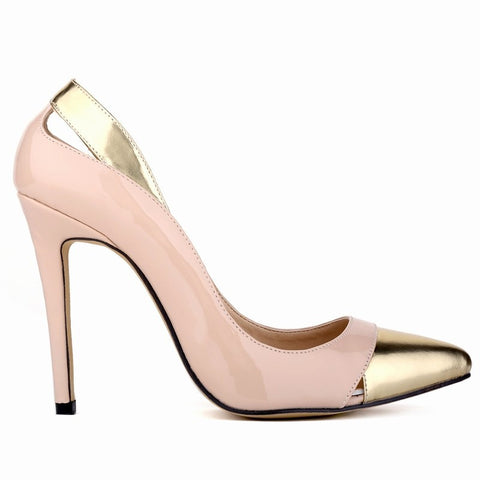Blush and Gold Wedding Shoes More Colours Bridal or Bridesmaid - FabFunBride