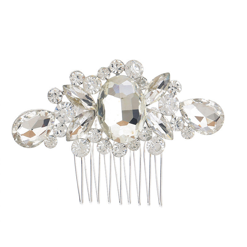 Small Crystal Hair Comb - FabFunBride