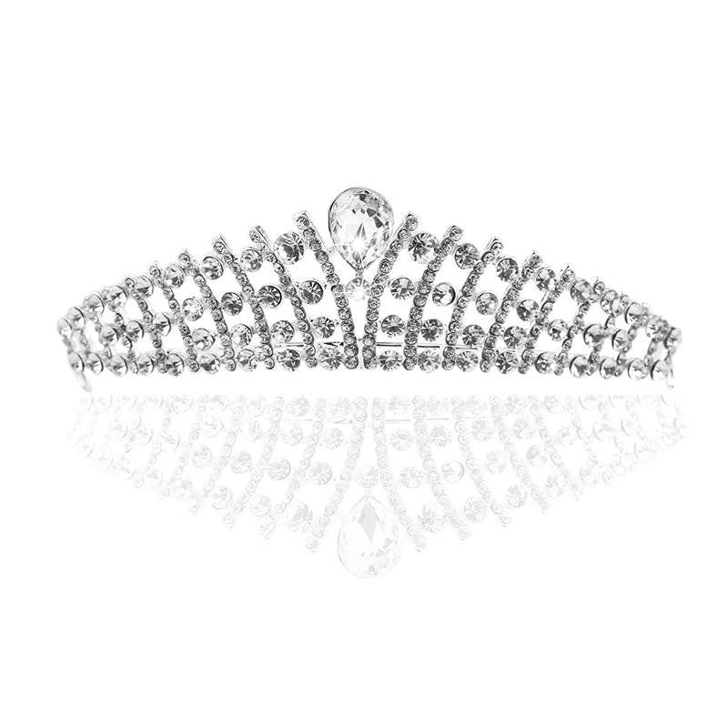 Unique Tiara crystal Design - FabFunBride