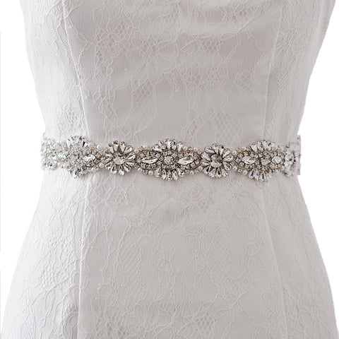 Luxe Design Bridal belt crystal - FabFunBride