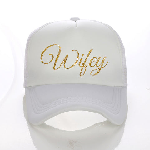 Wifey Hat Many Colours - FabFunBride