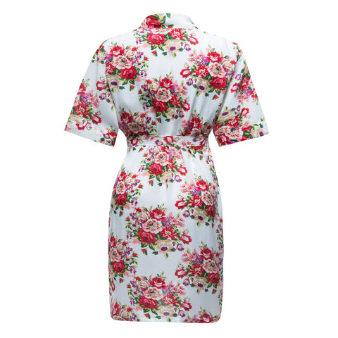 Floral Robes 4 Colors Cotton - FabFunBride