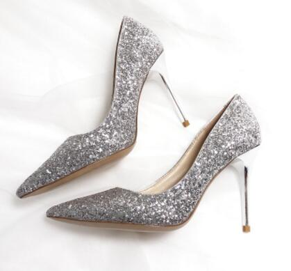 a394ccc3ded Wedding dress shoes Rose Gold
