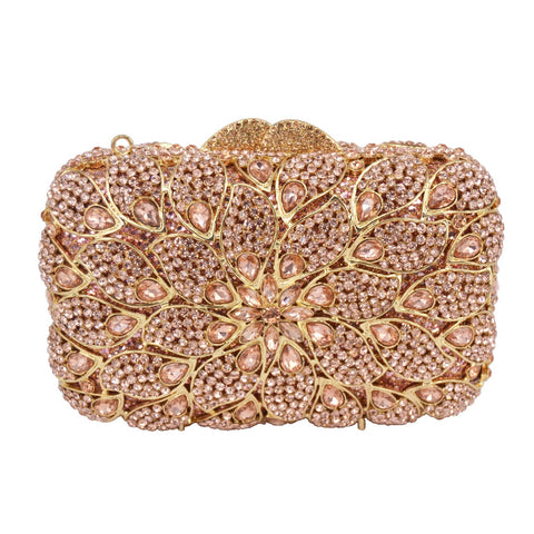 Crystal Clutch Bag Luxury Diamond - FabFunBride