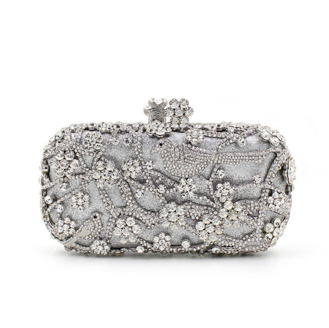 Bling Diamonds Crystal Clutches Purse - FabFunBride