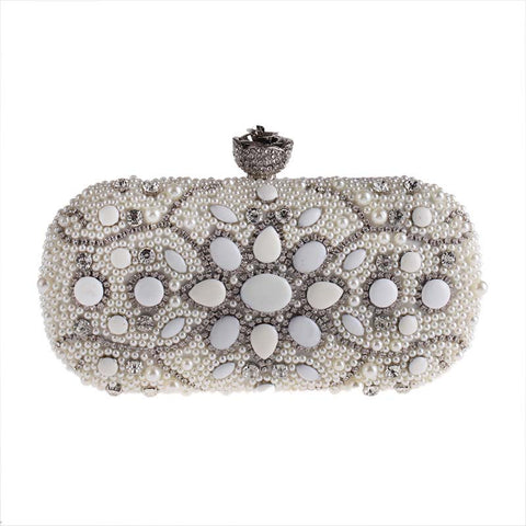 Beads Crystal Evening Bag - FabFunBride