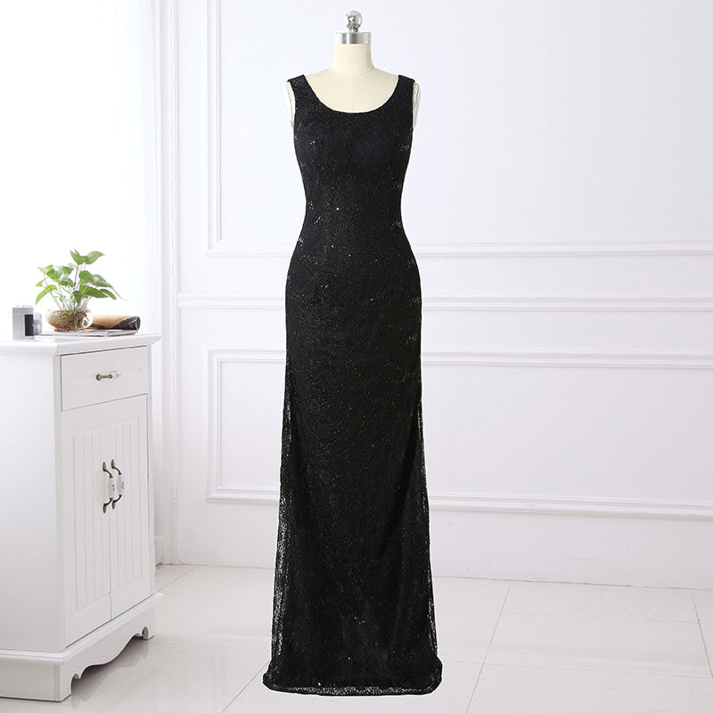 Vintage Black Lace Mother of the Bride Dresses with Jacket Long Sleeve