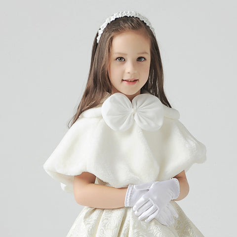 Flower Girl Bow Fur Borelo - FabFunBride