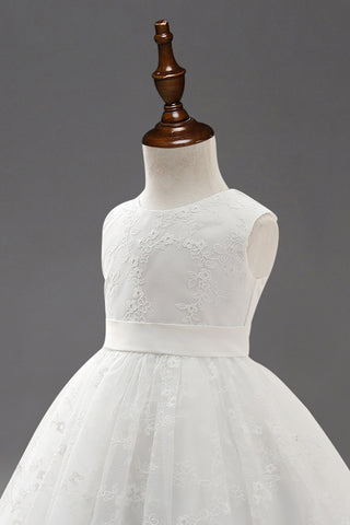 Evelyn Classic Flower Girl Dress - FabFunBride