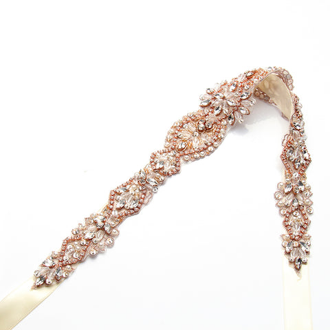 Stella Belt Rose Gold - FabFunBride