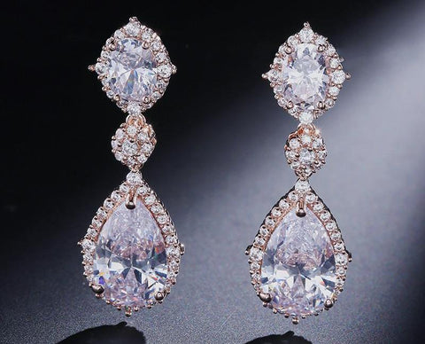 Venetian Drop Earrings - FabFunBride