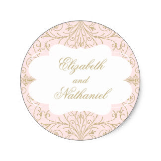 Lush Blush Label (500pcs) - FabFunBride