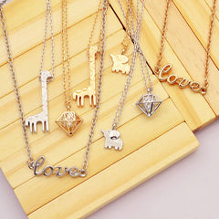 Bridemaids Unique Pendant Necklaces - FabFunBride