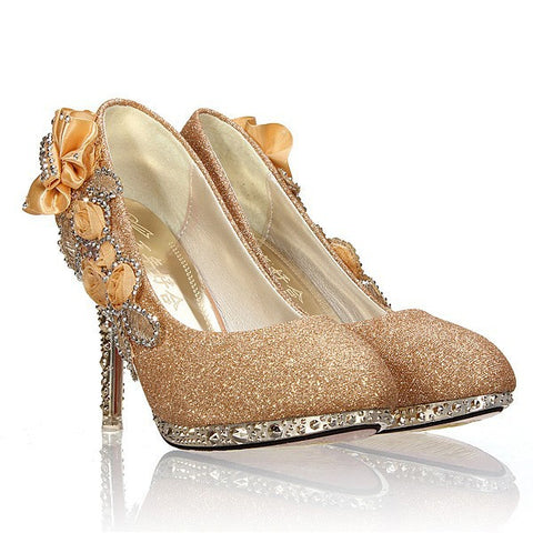Cinderella Bridal Shoes - FabFunBride