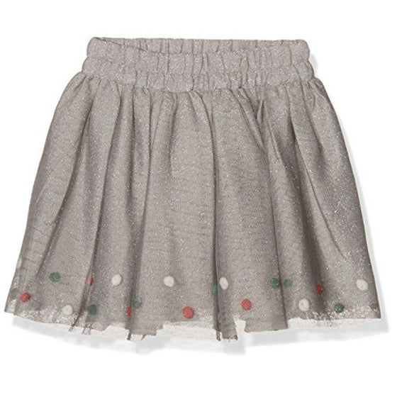 3 Pomme  Girls Wonderland Skirt - Grey