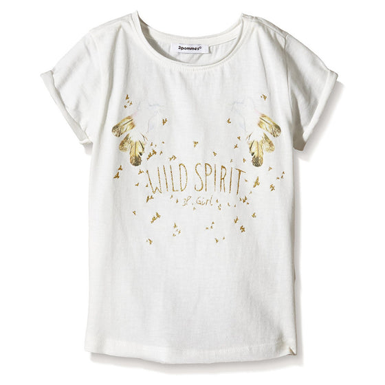 3 Pommes Girls Golden Life T-Shirt