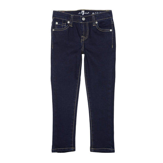 7 For All Mankind Girls Skinny Jean - Dark Wash