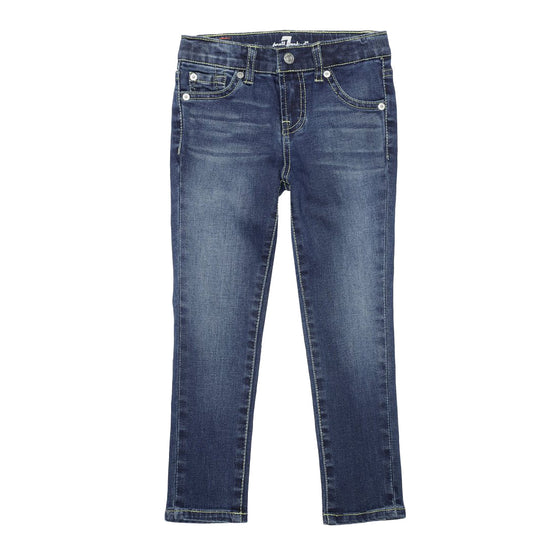 7 For All Mankind Girls Skinny Jean - DUTB Wash
