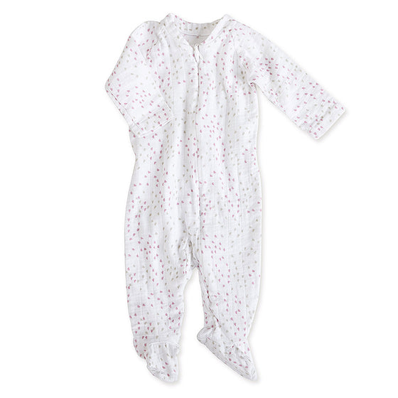 Aden And Anais Zipper One Piece - Loveley Mini Hearts