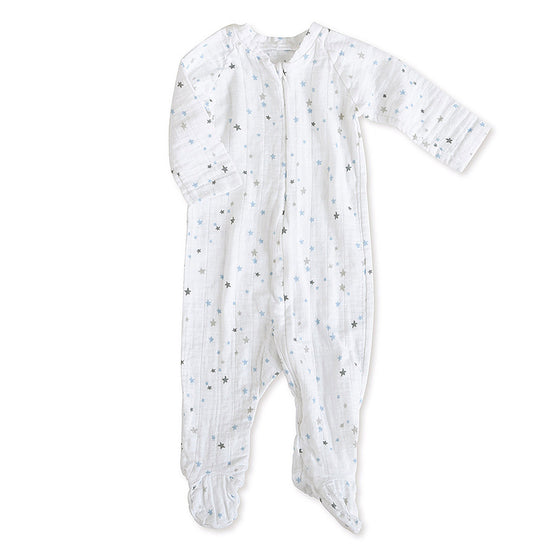 Aden And Anais Zipper One Piece - Night Sky Starburst