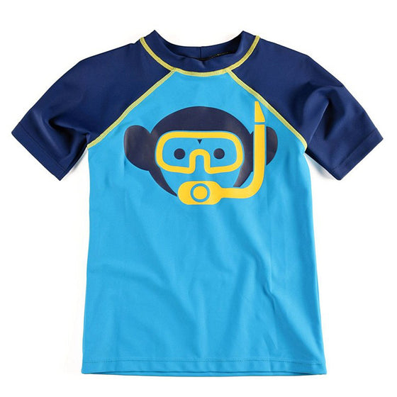 Appaman Short Sleeve Rashguard - Blue