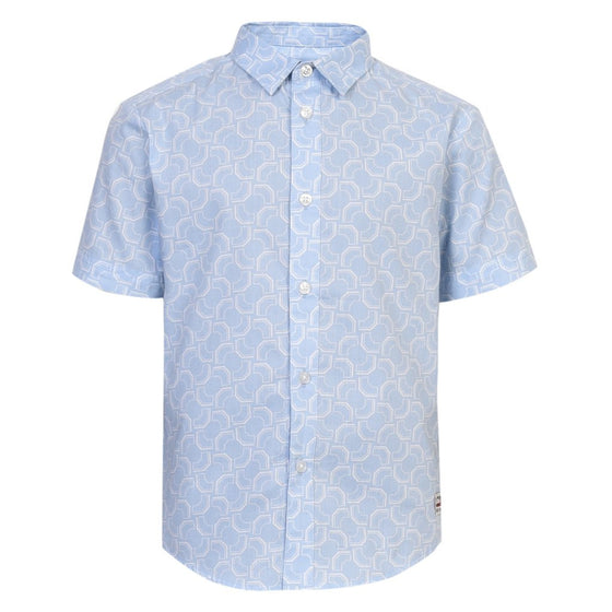 Ben Sherman Boys West Coast Printed Shirt