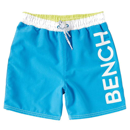 Bench Kids Boys Plain Swim Shorts - Blue
