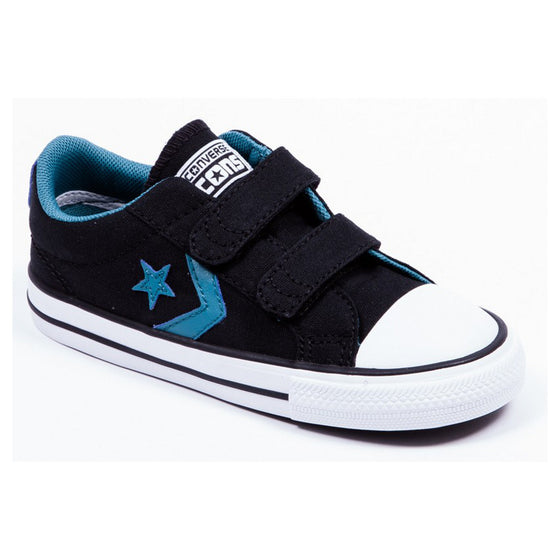 Converse kids 2V OX Suede Black Side