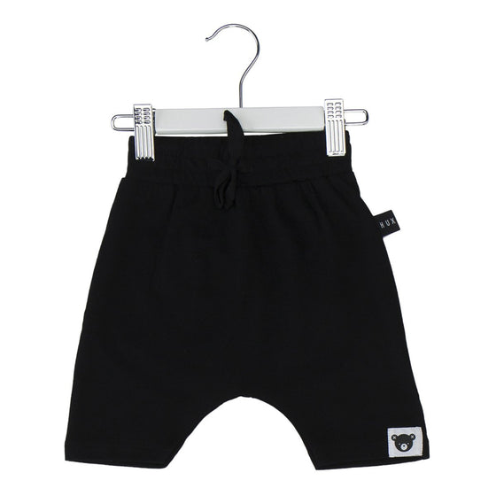 Huxbaby drop crotch shorts Black