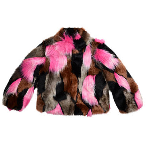 Imoga Girls Faux Fur Greta Jacket