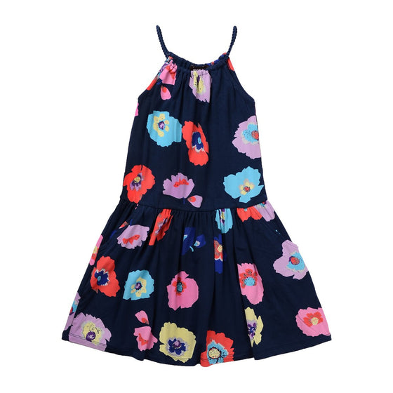 Imoga  Mia Dress Girls - Navy