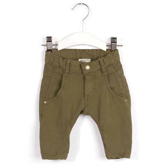 Imps and Elfs Baby Trousers - Night Green