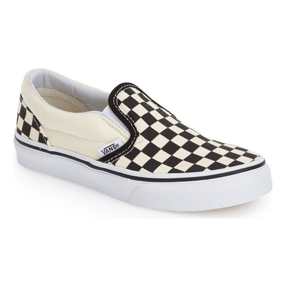 Vans Kids Checker White