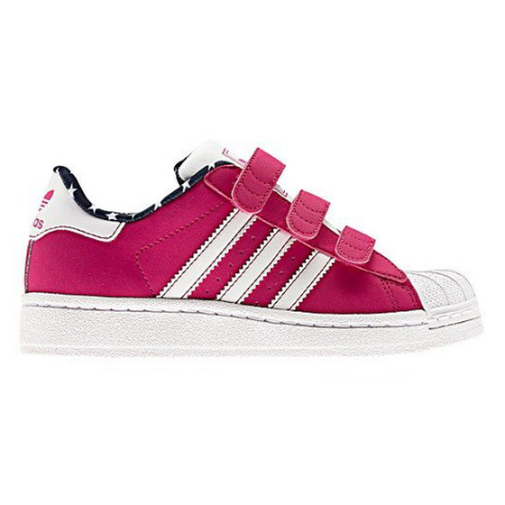 Adidas Superstar Kids Suede Pink