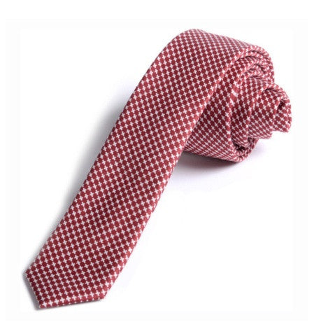 Appaman Boys Tie - Red Check