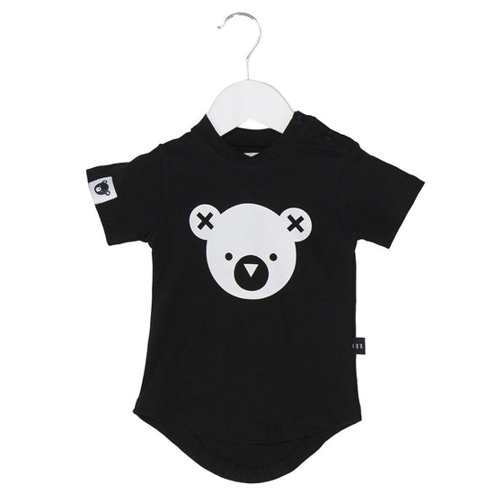 HubBaby bear essentials t-shirt - black