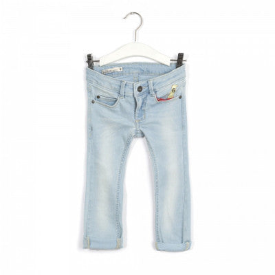 Imps and Elfs Super Skinny Fit Jeans - Light Wash