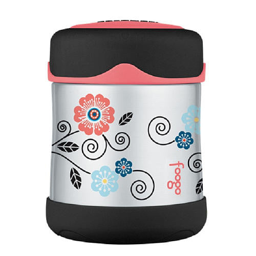 Foogo Insulated Kids Food Jar - Poppy Patch
