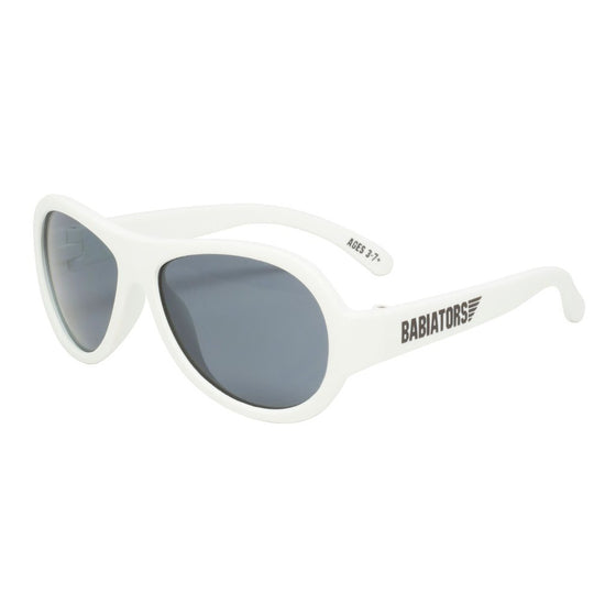 Babiators Aviator Kids Sunglasses - Wicked White