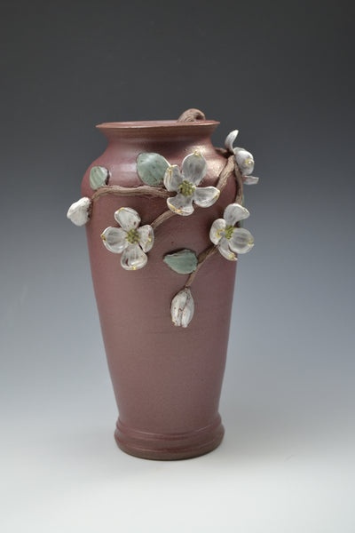 Dogwood Vase #15 / Front View