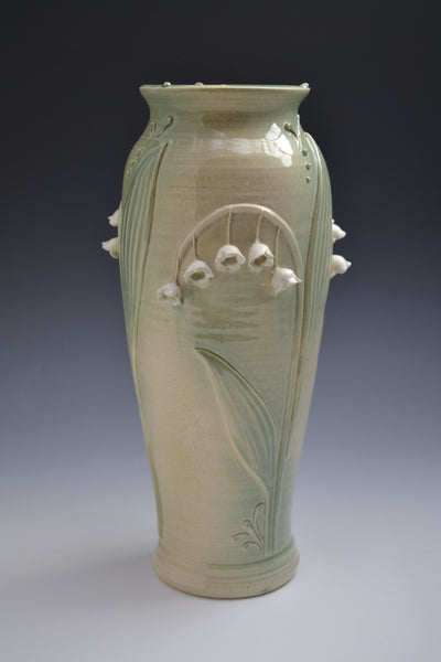 Lillies of the Valley Vase #4