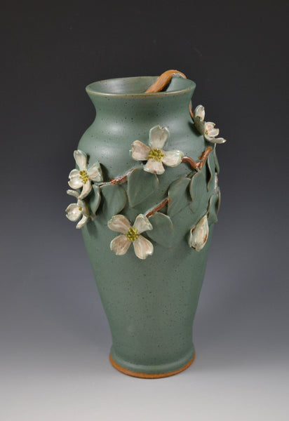 Dogwood Vase #16 / Front View