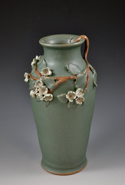 Cherry Blossom Vase #1/ Front view