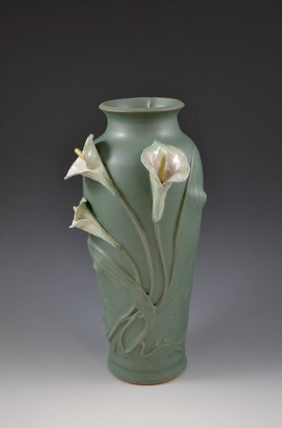 Calla Lilly Vase #13 / Front view