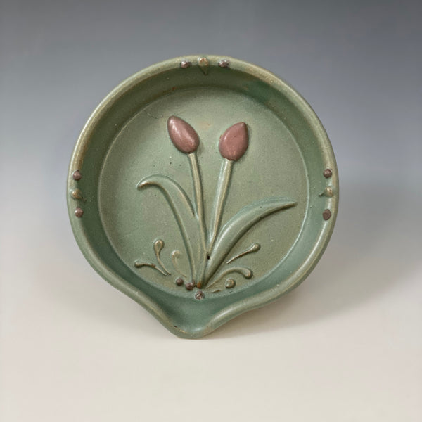 Tulip Spoon Rest #12